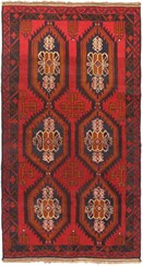 "Rugs Direct Gallery 3'4"" x 6'4"" rectangular Regular Price: $855.00 Rectangular Wool Rug, Red  - 45589"