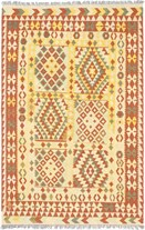 "Rugs Direct Gallery 5'6"" x 8'6"" rectangular Regular Price: $2,837.00 Rectangular Wool Kilim, Gold  - 52576"