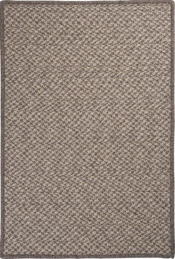 Natural Wool Houndstooth Natural Wool Houndstooth Area Rug