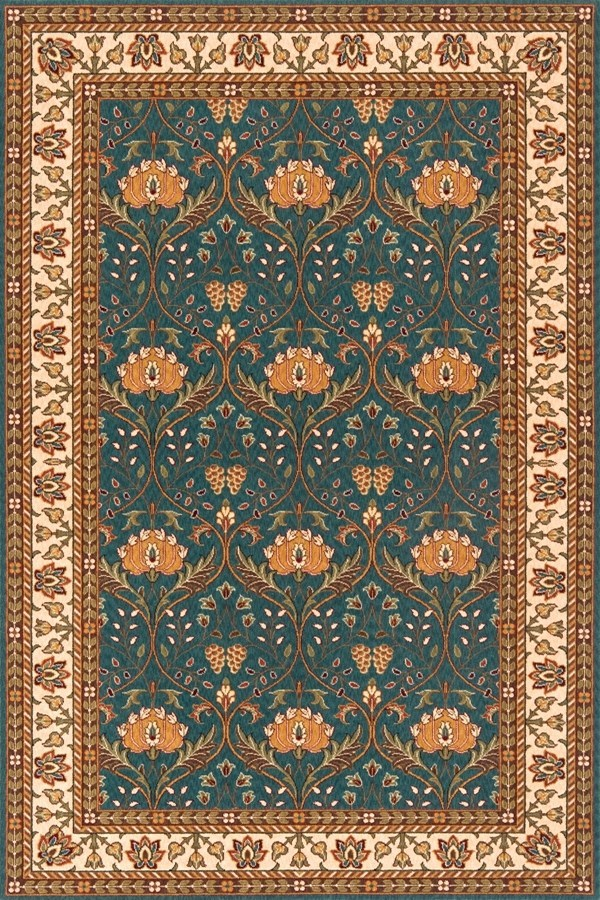 Momeni persian garden pg 12 rugs rugs direct for Arts and crafts carpet