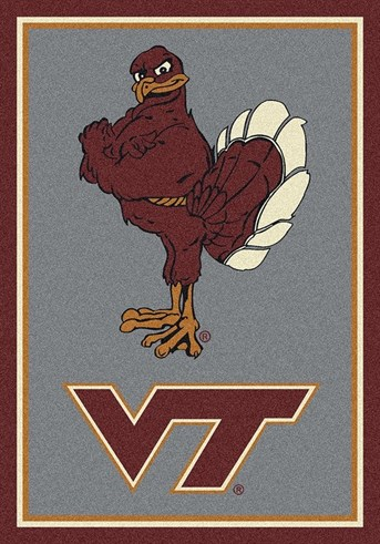 College Spirit Rugs (3315) Virginia Tech Area Rug
