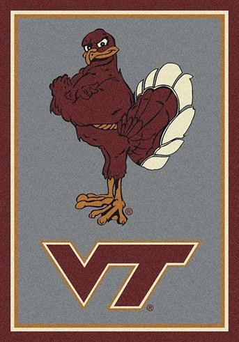 College Spirit Rugs (3315) Virginia Tech Area Rug