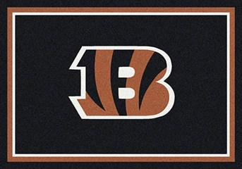 NFL Team Rugs Cincinnati Bengals arearugs
