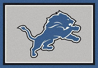 NFL Team Rugs Detroit Lions arearugs