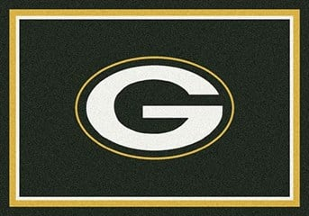 NFL Team Rugs Green Bay Packers arearugs