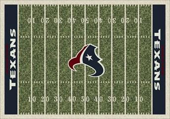 NFL Team Rugs Houston Texans arearugs