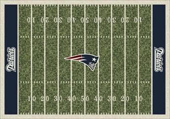 NFL Team Rugs New England Patriots arearugs