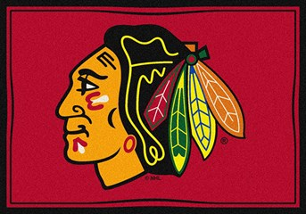NHL Spirit Rug Chicago Area Rug