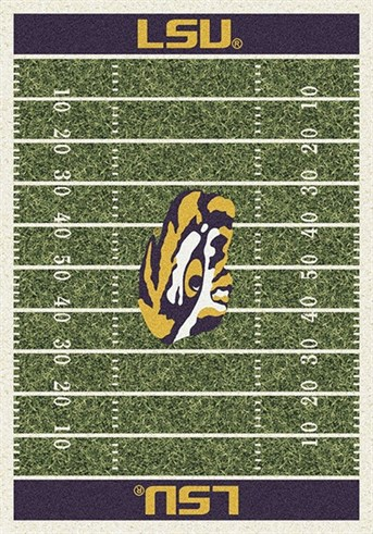 Homefield Rugs (3319) LSU arearugs