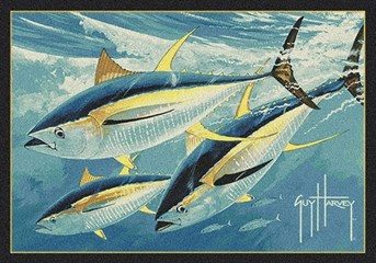 Guy Harvey Yellow Fin Tuna arearugs