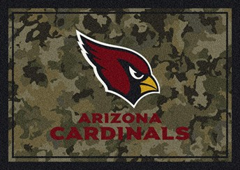 NFL Team Camo Arizona Cardinals arearugs