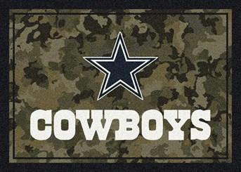 NFL Team Camo Dallas Cowboys arearugs
