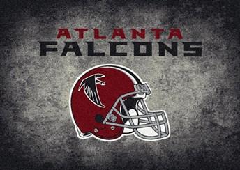 NFL Team Distressed Atlanta Falcons arearugs