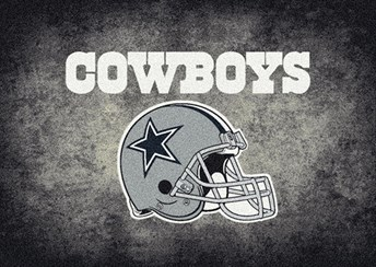 NFL Team Distressed Dallas Cowboys arearugs