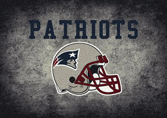 NFL Team Distressed New England Patriots arearugs