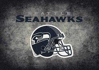 NFL Team Distressed Seattle Seahawks arearugs
