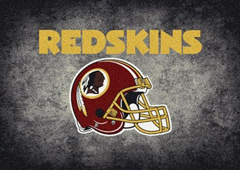 NFL Team Distressed Washington Redskins arearugs