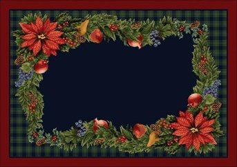 Holiday Rugs Bountiful P-4533 arearugs