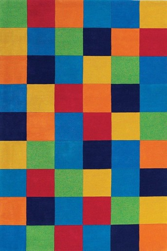 Kidding Around Color Blocks Area Rug