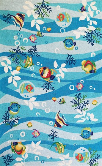 Sonesta Tropical Fish Area Rug