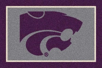 College Spirit Rugs (3315) Kansas State arearugs