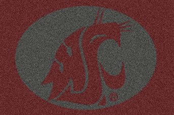 College Spirit Rugs Washington State arearugs