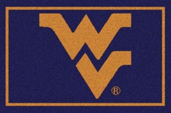 College Spirit Rugs (3315) West Virginia arearugs