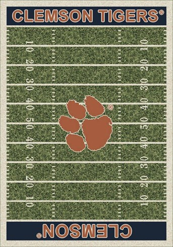 Homefield Rugs (3319) Clemson arearugs