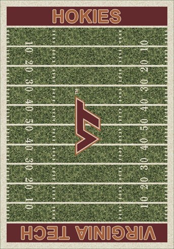 Homefield Rugs (3319) Virginia Tech arearugs