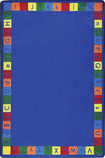 Kid Essentials Primarily Alphabet Area Rug