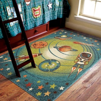 Kids Court Galaxy arearugs
