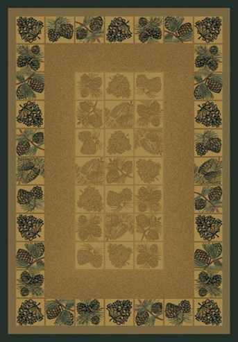 Genesis Pine Cones arearugs