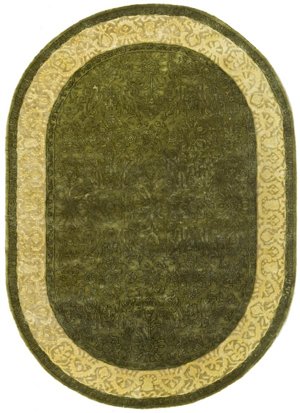 enlarged view - Oval Area Rugs
