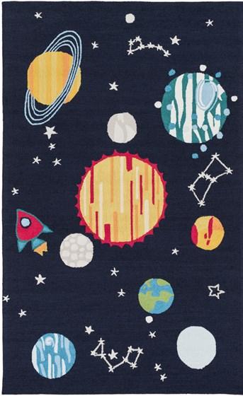 Peek-A-Boo Solar System arearugs