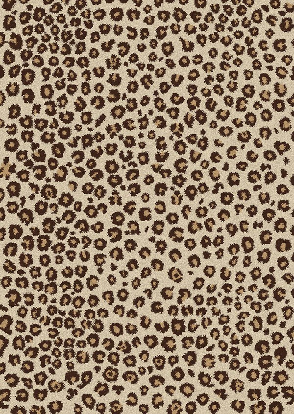 Concord Global Shaggy Leopard Rugs Rugs Direct