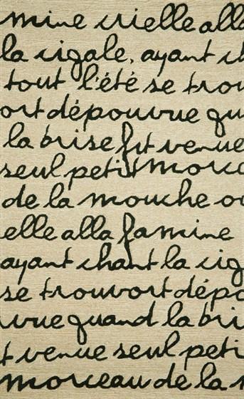 Liora Manne - Spello Poem arearugs