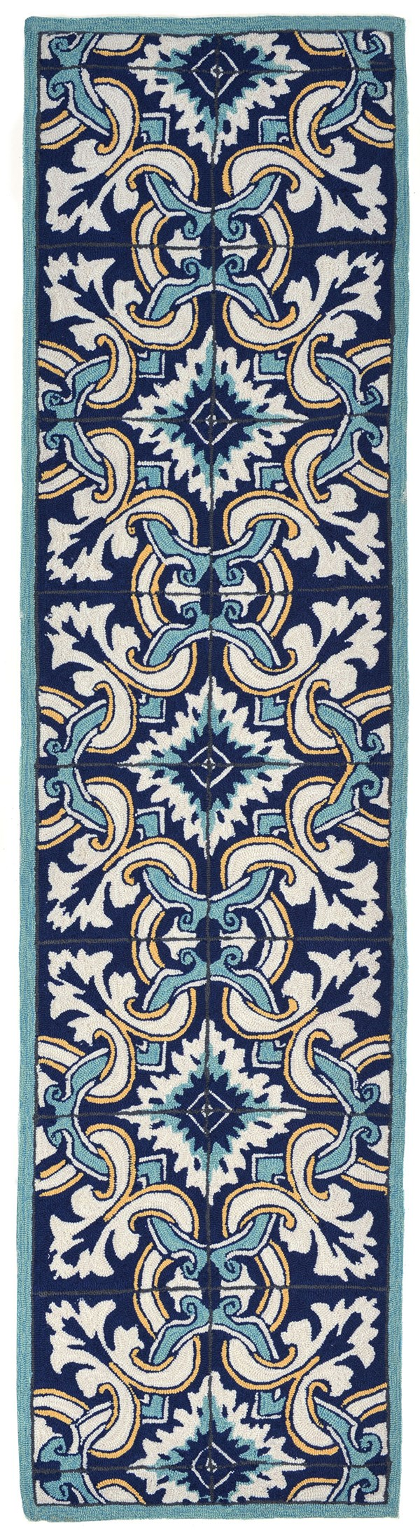 Liora Manne Ravella Floral Tile Rugs Rugs Direct