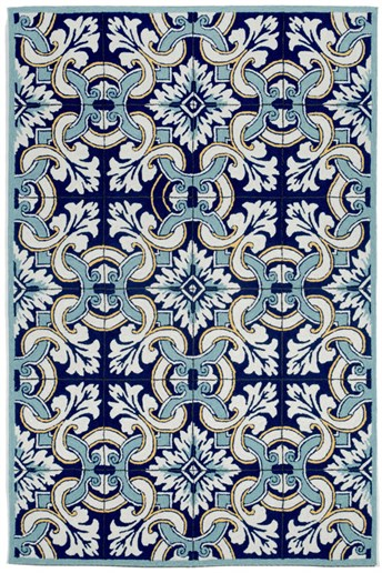 Ravella Floral Tile arearugs