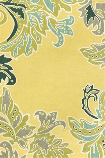 Liora Manne - Ravella Ornamental Leaf arearugs