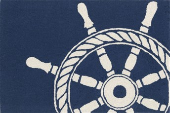 Liora Manne - Front Porch Mats Ship Wheel arearugs