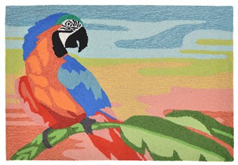 Liora Manne - Front Porch Mats Macaw arearugs