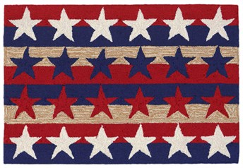Liora Manne - Front Porch Mats Stars and Stripes America arearugs
