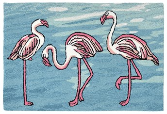 Front Porch Flamingo arearugs