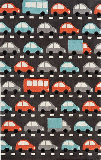 Iconic by Petit Collage - Hand Tufted Traffic arearugs