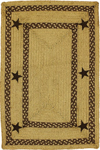 Jute Braided  Texas Area Rug