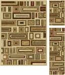 Tayse International Trading 5' x 7' three piece set Regular Price: $818.00 4662 Set, Ivory