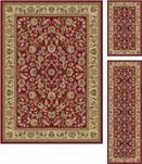 Tayse International Trading 5' x 7' three piece set Regular Price: $818.00 5070 Set, Red