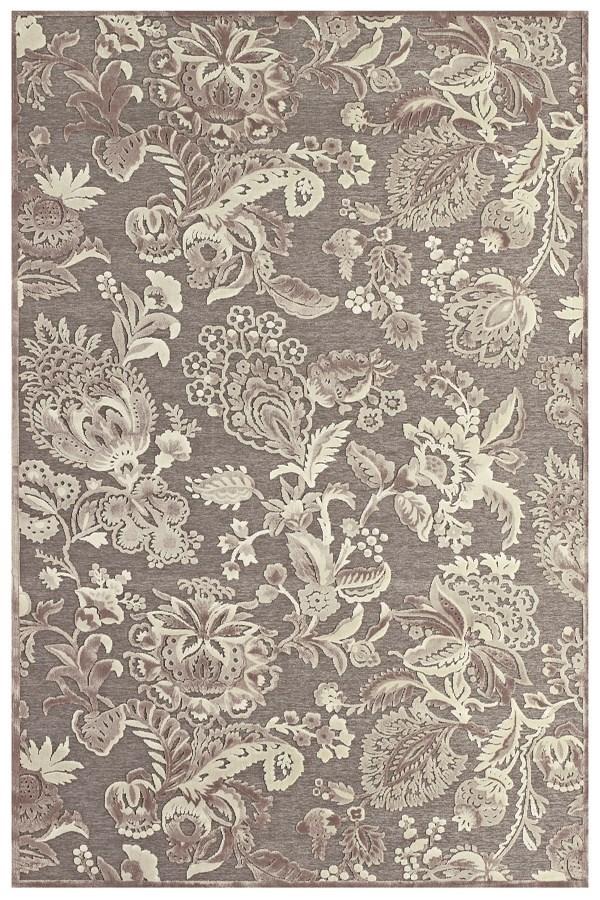 Rug suzani wool style yarn then hand-cut