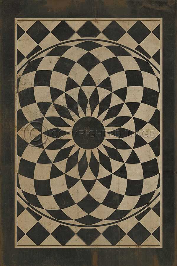 spicher and company vintage vinyl floor cloths we are all mad here
