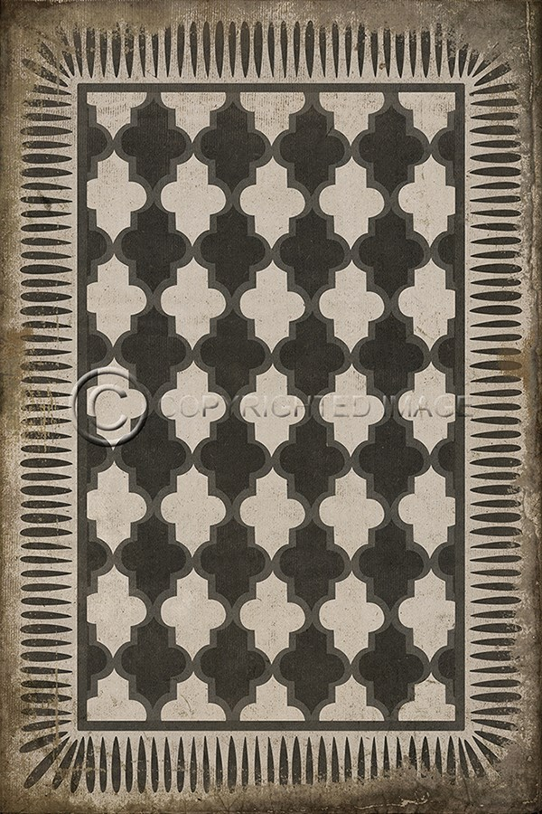Spicher And Company Vintage Vinyl Floor Cloths Open Sesame